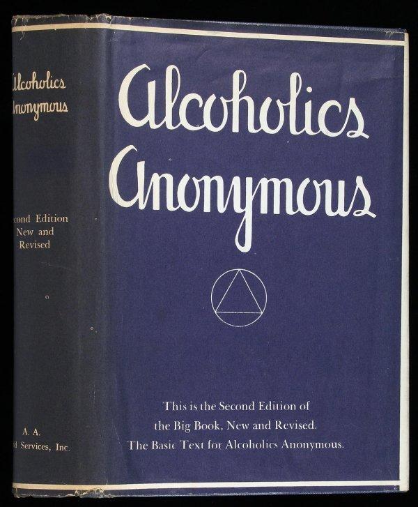 23: Wilson, Alcoholics Anonymous 2nd Ed. 5th Ptg. dj