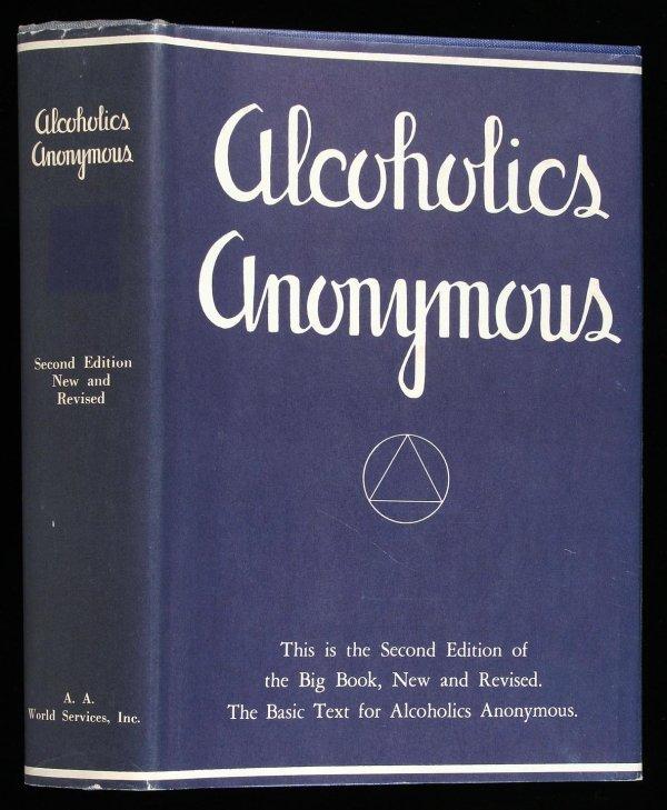 24: Wilson, Alcoholics Anonymous 2nd Ed. 6th Ptg. dj