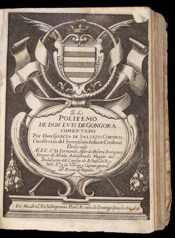 99: The Polyphemus of Don Luis de Gongora 1636