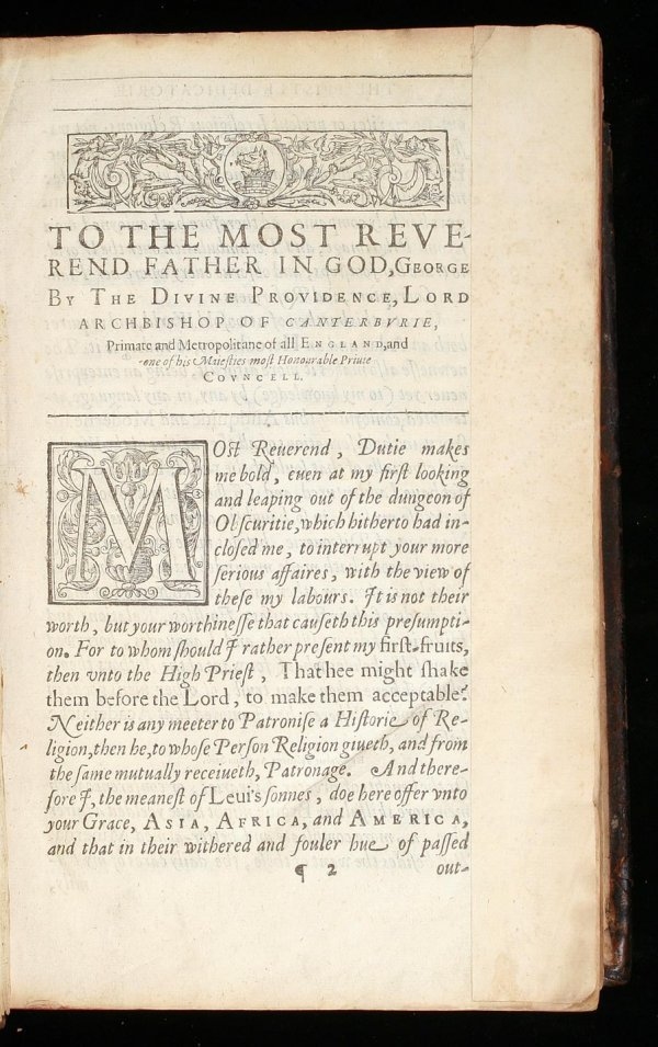 139: First edition of Purchas His Pilgrimage 1613 - 2