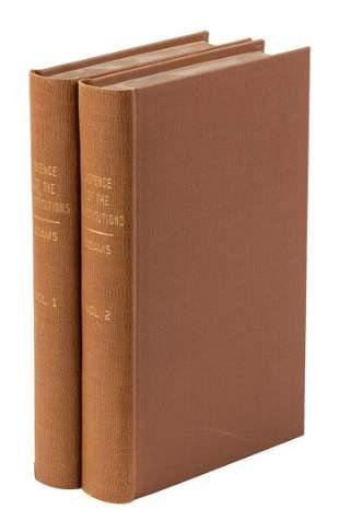 John Adams' Defense of the Constitutions, 1787