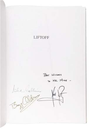 Signed by Neil Armstrong Buzz Aldrin Michael Collins