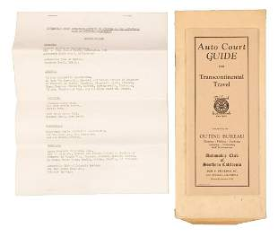 Auto court guide from 1931