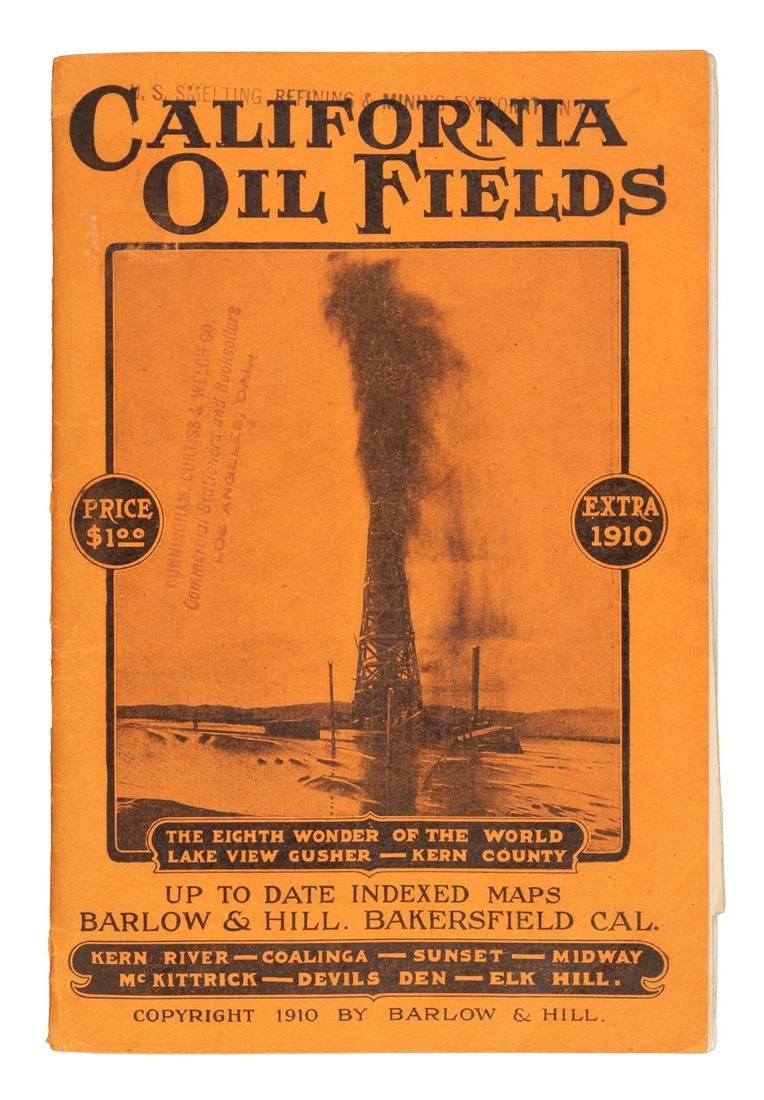 Maps of the Oil Fields of California, 1910