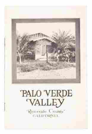 Palo Verde Valley Blythe promotional