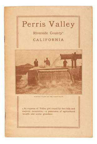 Promotional for Perris Riverside County Cal