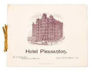 Hotel Pleasanton in San Francisco 1892