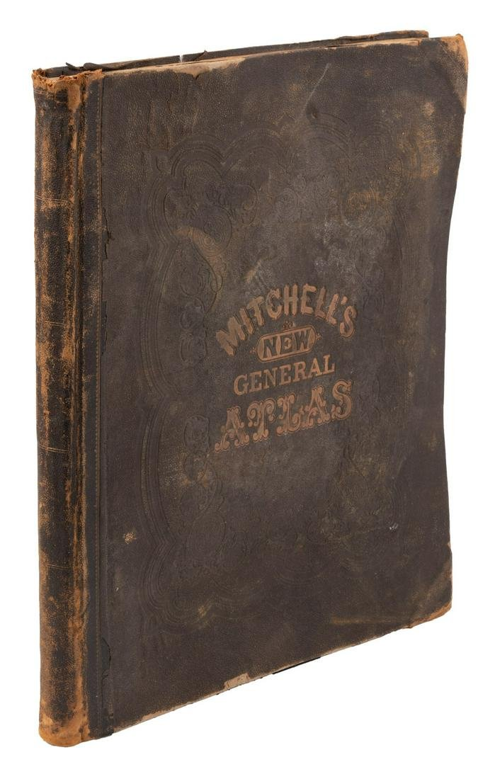 Mitchell's New General Atlas, 1872