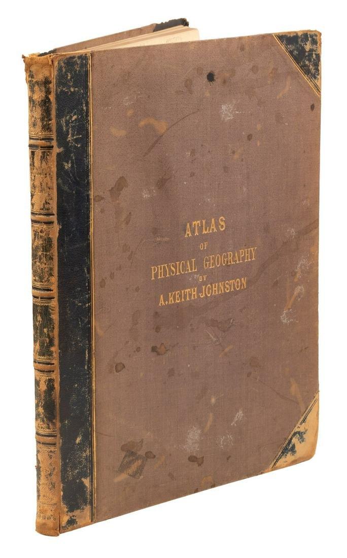 Johnston's Physical Atlas 1869