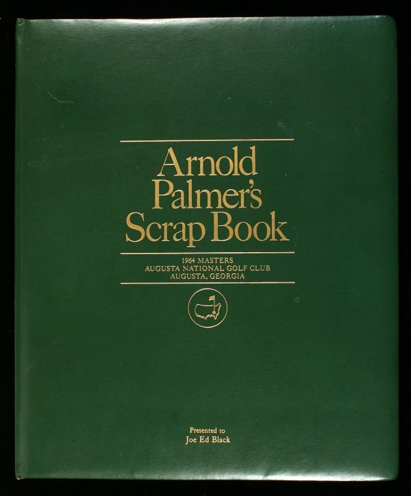 1011: Arnold Palmer's Scrap Book 1964 Joe Black's copy