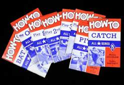 1479: How to Play Baseball 8 Volumes by All Stars