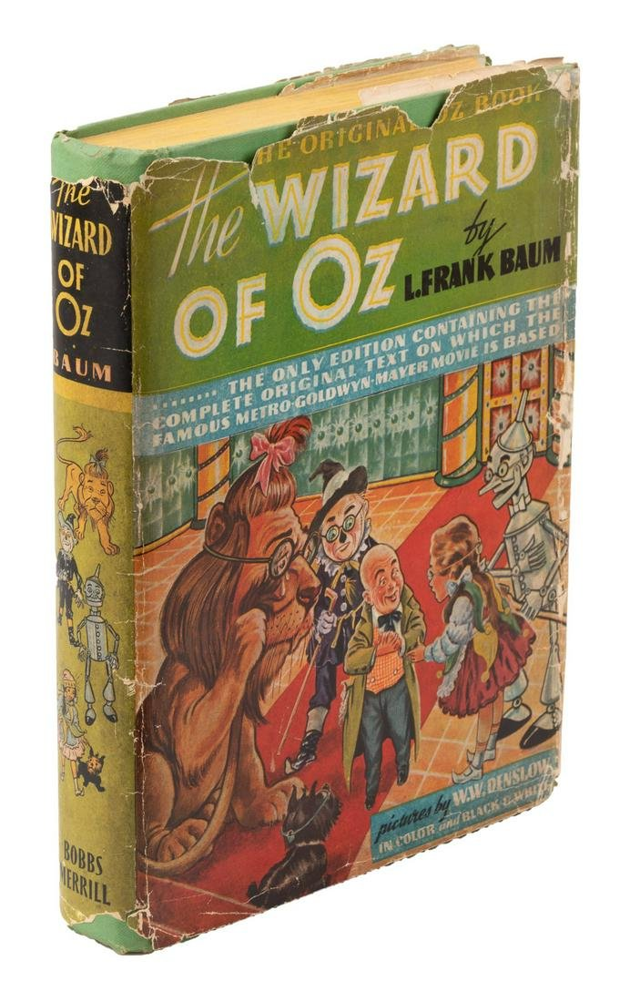 The Wonderful Wizard of Oz MGM Edition 1st Printing