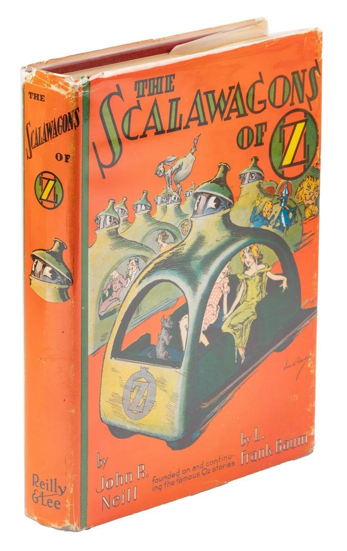 The Scalawagons of Oz 1st Edition in later Dust Jacket