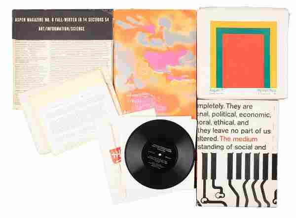 Aspen magazine in a box, Nos. 1-9 1965-71