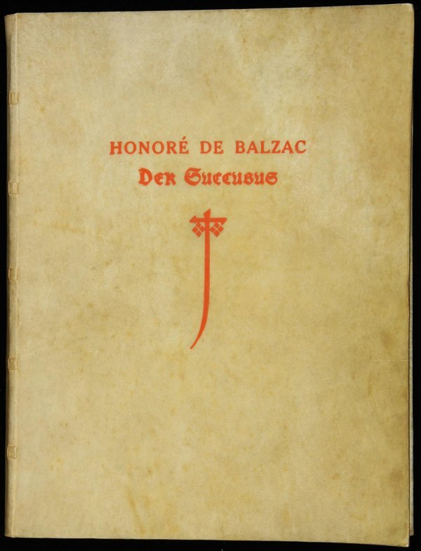 2002: Balzac Der Succubus One of 30 Copies