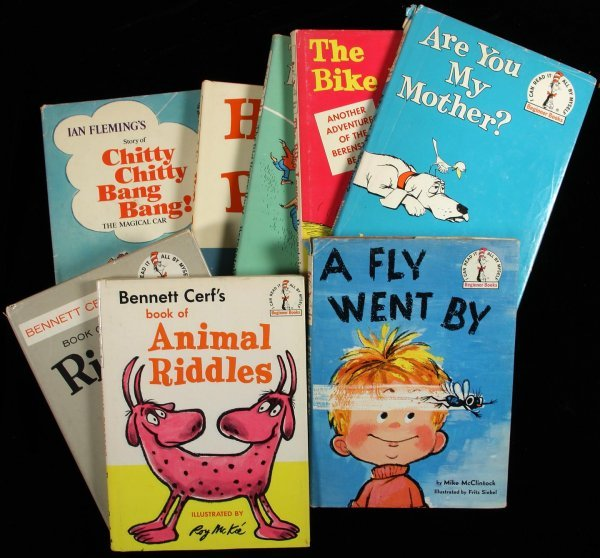 2009: Lot of 8 titles published by Beginner Books
