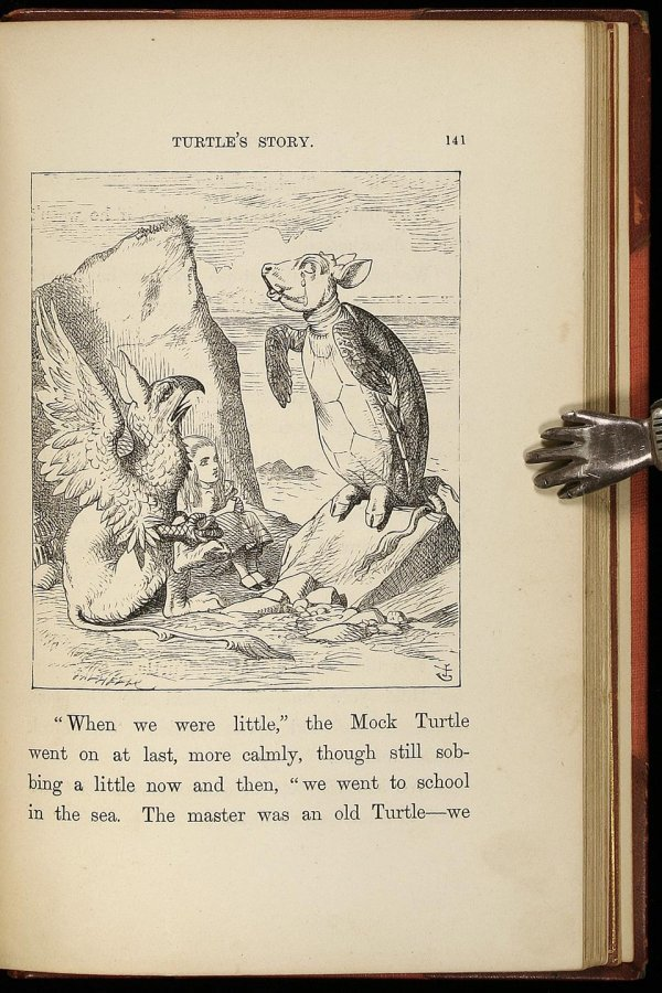 2016: Alice in Wonderland, 1st American edition 1866