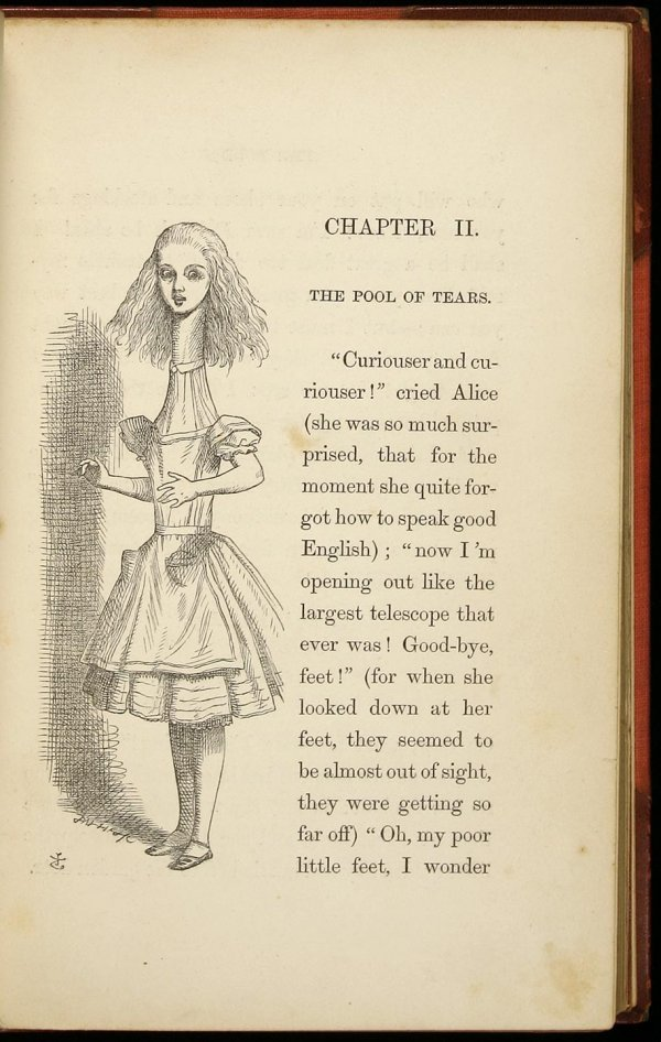 2016: Alice in Wonderland, 1st American edition 1866 - 2