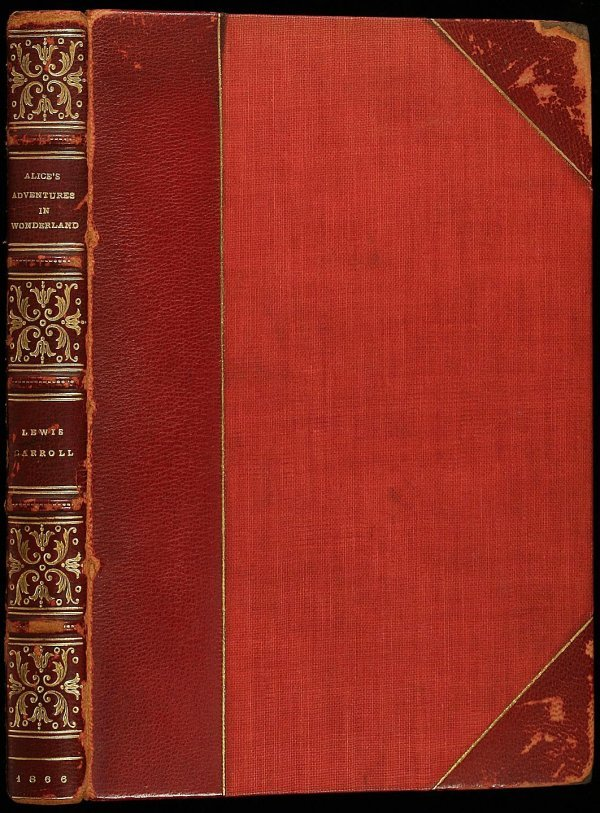2016: Alice in Wonderland, 1st American edition 1866 - 3