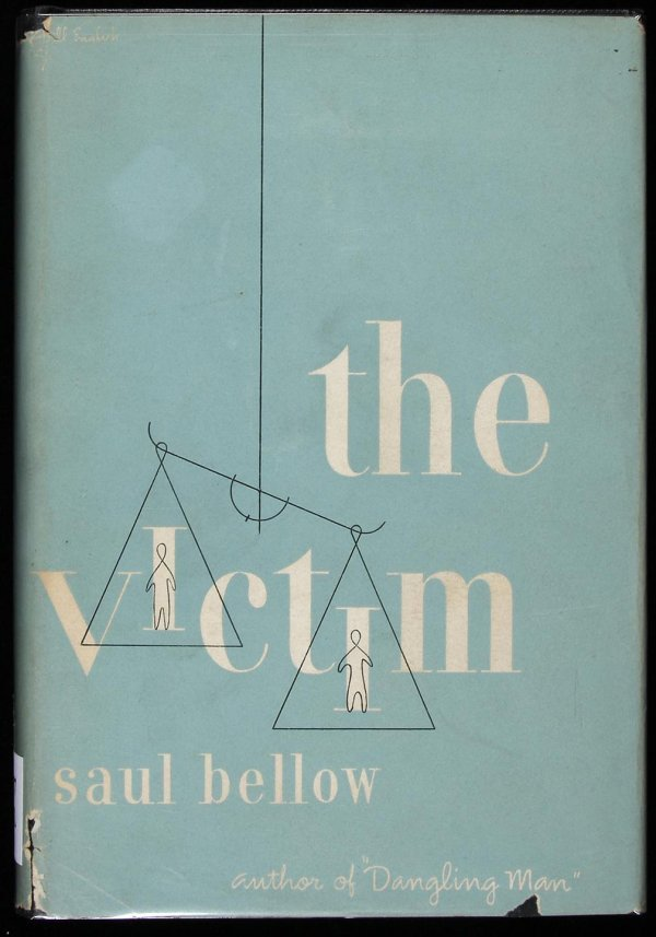 8: Saul Bellow, The Victim, 1st Edition in jacket