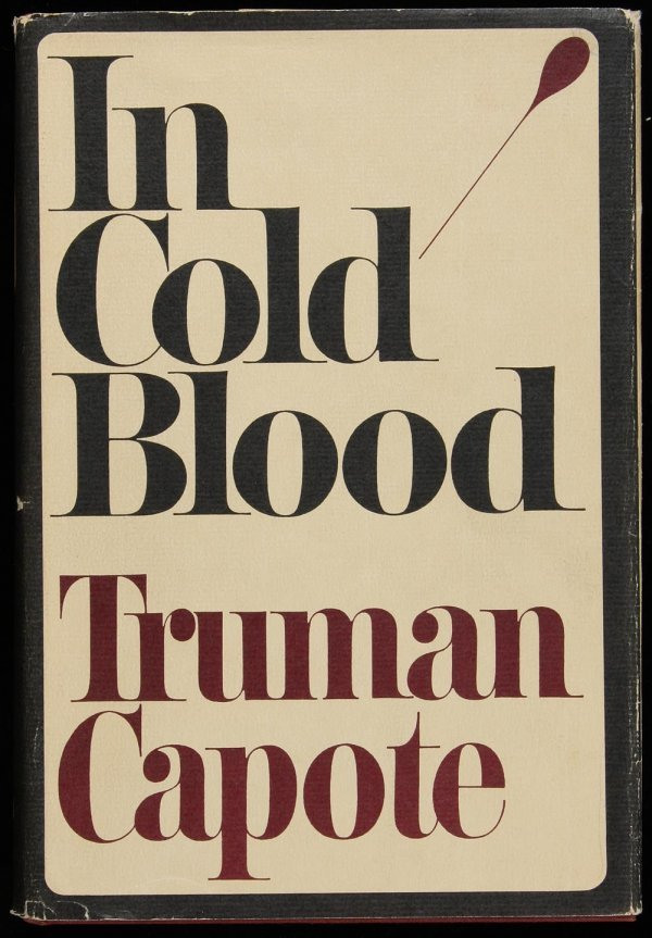 16: Truman Capote, In Cold Blood, 1st Ed. in dj