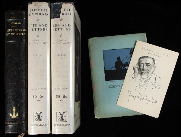24: Two titles re Joseph Conrad + additional material