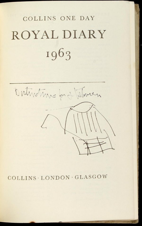 230: Gregory Corso original 1963 journal with drawings - 2