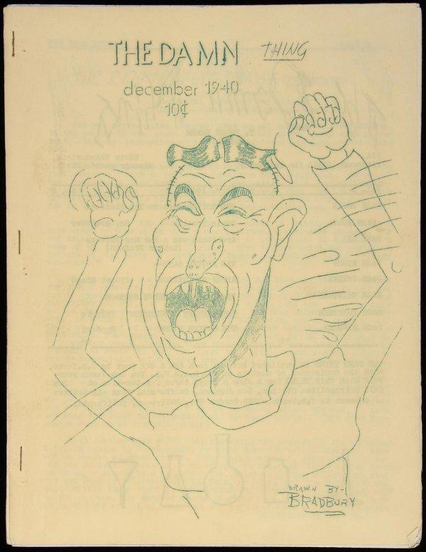 311: Ray Bradbury, Genie Trouble, Dec. 1940 fanzine