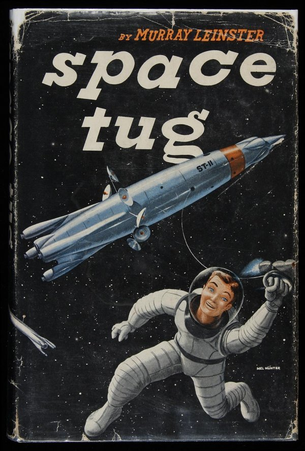 400: Leinster, Space Tug, Signed 1st Ed. in dj