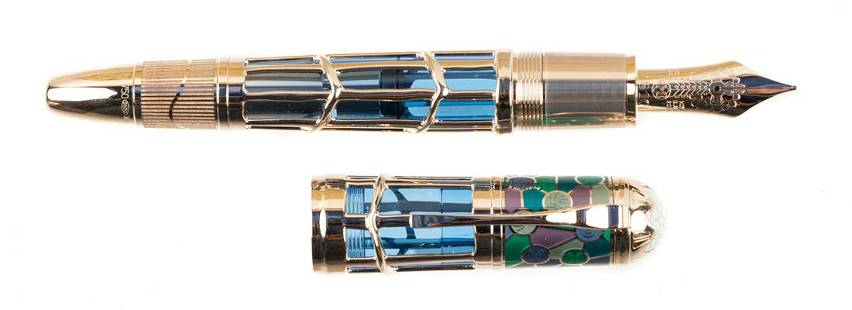 MONTBLANC Artisan Ed: GAUDI Ltd Fountain Pen