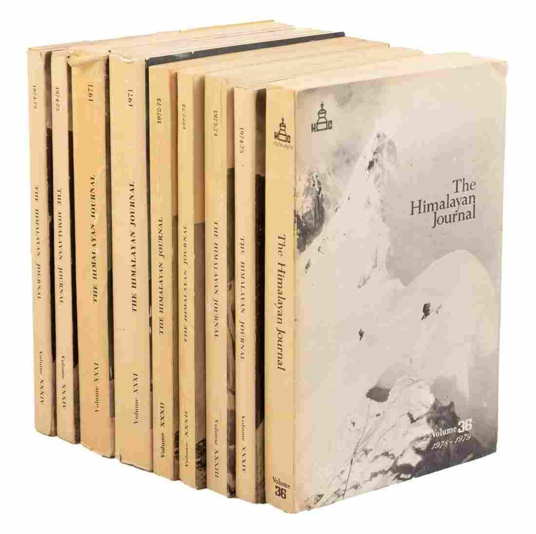The Himalayan Journal 1930-92