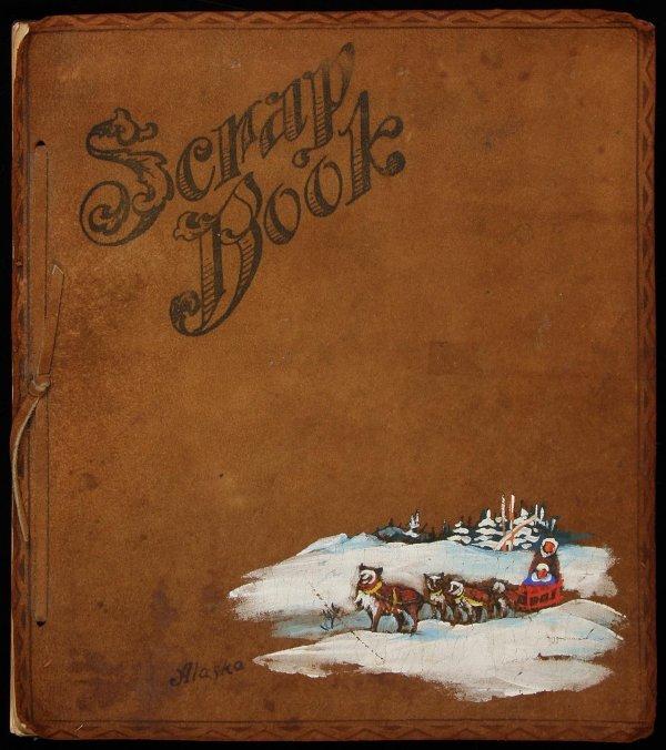 1002: (Alaska) Military base scrapbook, 1940's