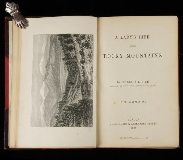 1017: A Lady's Life in the Rocky Mountains 1879