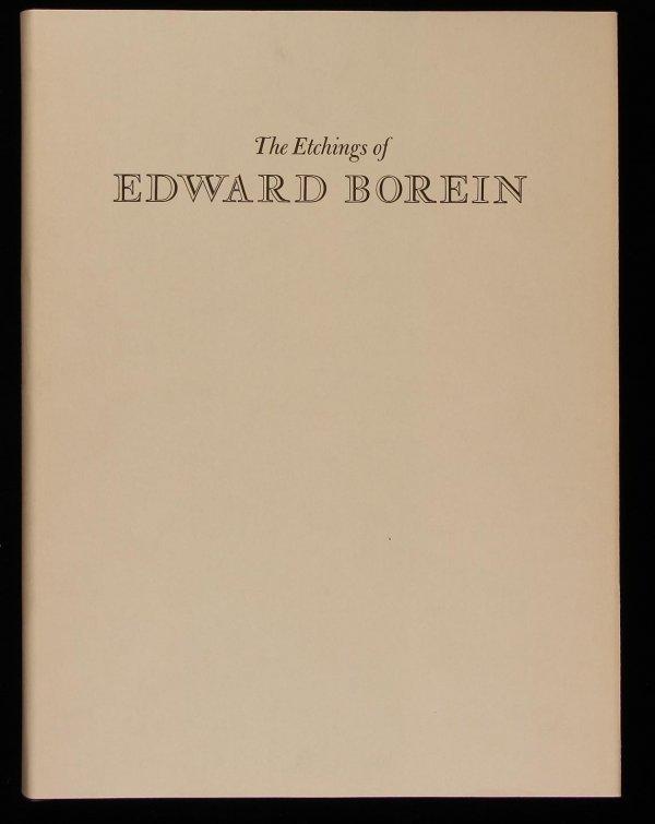 1019: Etchings of Edward Borein, 1971 in dj & box