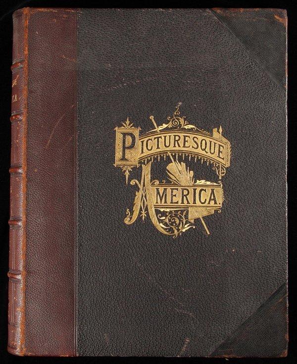 1021: Picturesque America - Steel Engravings