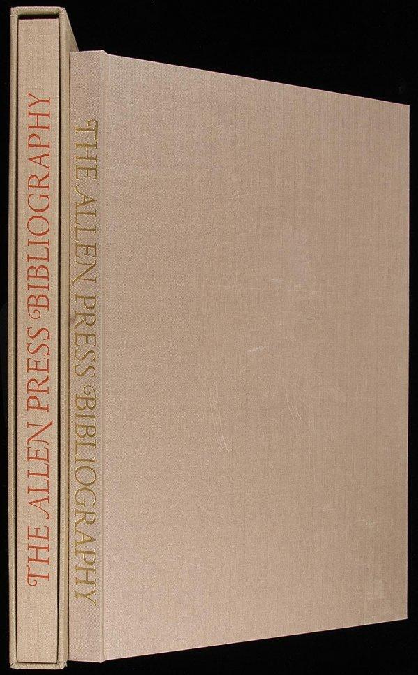 2003: The Allen Press Bibliography, 1 of 140 copies