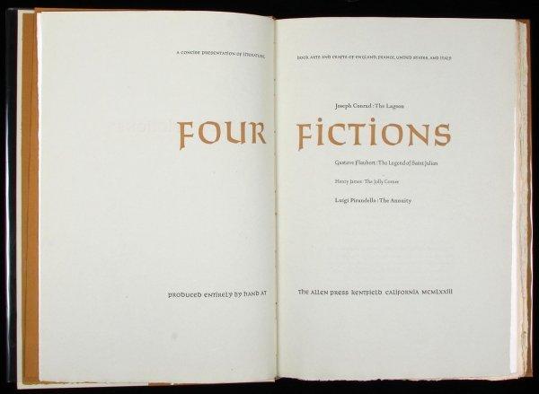 2020: (Allen Press) Conrad et al Four Fictions, Ltd Ed.
