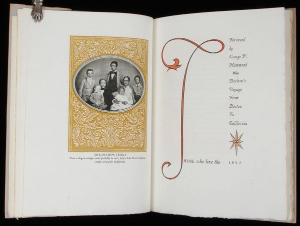 2024: Duchow Journal Voyage to CA - Allen Press 1/200