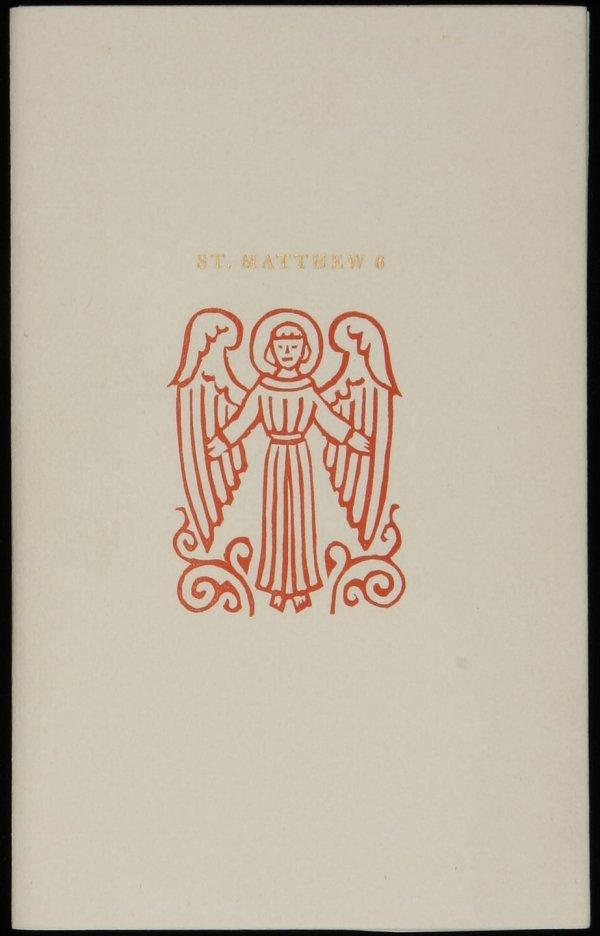 2066: Valenti Angelo, Lord's Prayer 1 of 20 copies