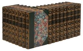 Works of Byron 17 Finely Bound Volumes