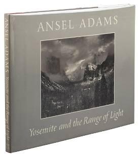 First British Edition of Ansel Adams' Yosemite