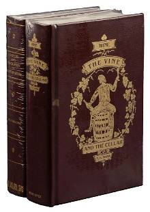 Two volumes on wine by the Bacchus Press
