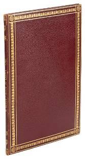 Facsimile of Blakes Ahania 1892 finely bound