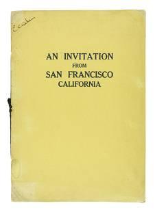 SF bids for 1928 Democratic Convention
