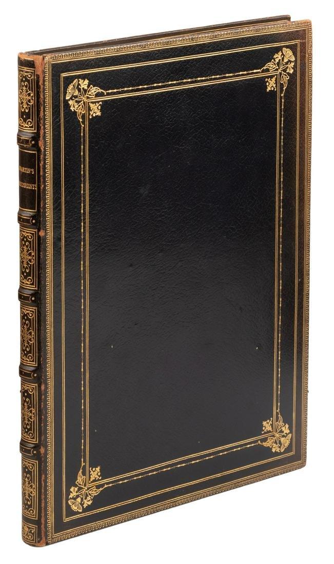 John Martin's mezzotints for Paradise Lost in large