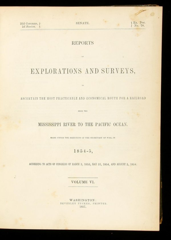 1: Pacific Railroad Survey in Southern Oregon