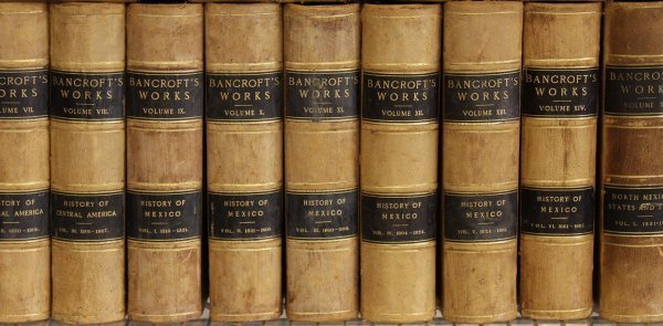 15: Hubert Howe Bancroft Works 39 Volumes