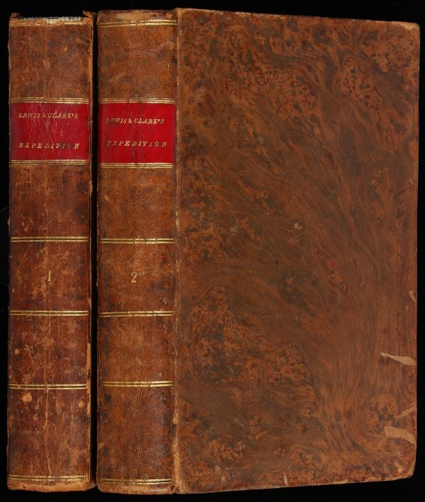 154: First edition of Lewis & Clark with map 1814