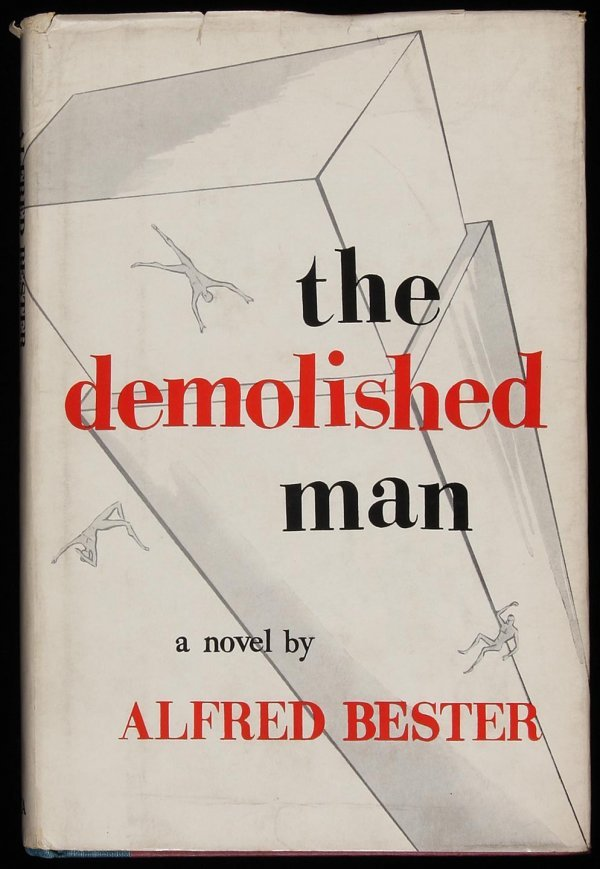 1009: Bester, The Demolished Man, 1st Ed. in jacket