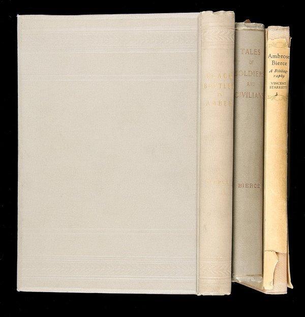 1011: Lot of 3 Ambrose Bierce volumes